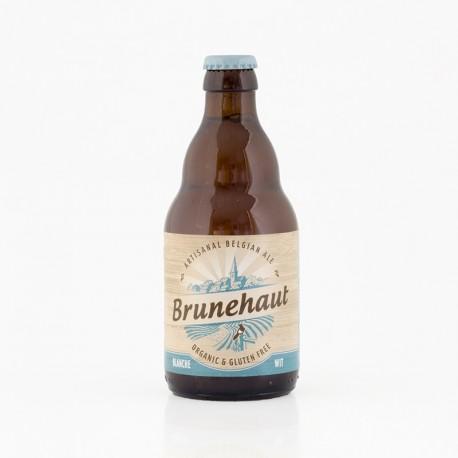 Bière Brunehaut blanche bio sans gluten 5° - 33 cl