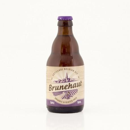Bière Brunehaut triple bio sans gluten 8° - 33 cl