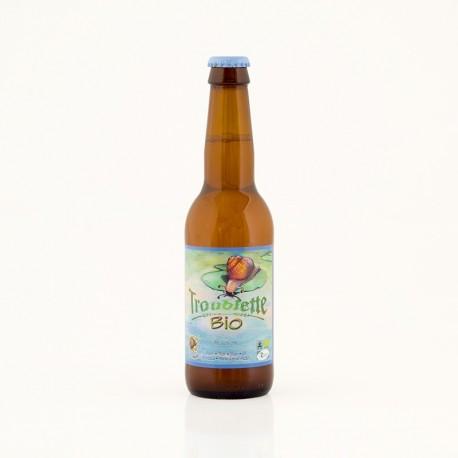 Bière Bio Troublette blanche 5.6° – 33 cl