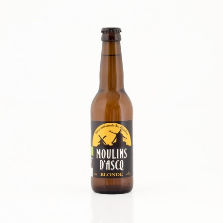 Moulin d'Ascq Blonde – 6.2° - 33 cl