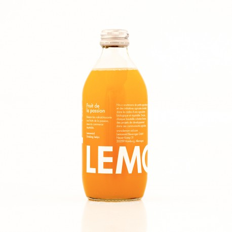 Lemonaid bio aux fruits de la passion