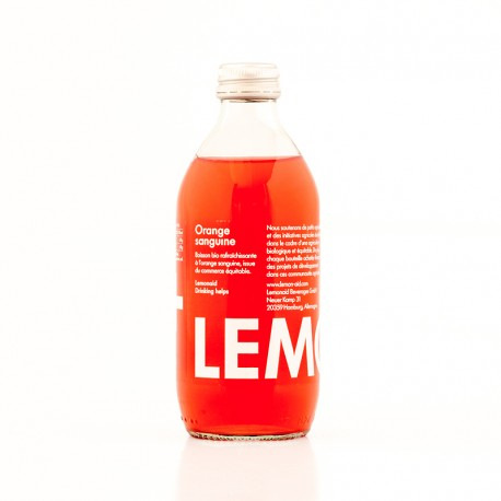 Lemonaid bio orange sanguine