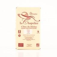 AOC Côtes du Rhône rouge Domaine Le Chapelier fruité 2018 biologique