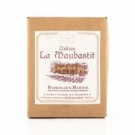 Bag In Box 3L - AOC Bordeaux rouge Château La Maubastit 2015